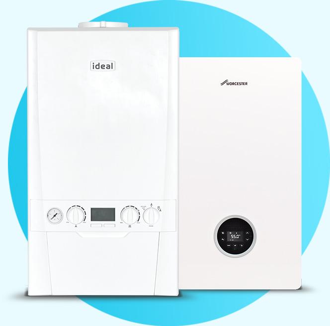 ideal boiler and worcester boiler new